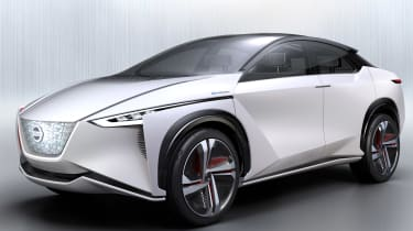 Nissan IMx concept - front action