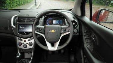 Chevrolet Trax cabin