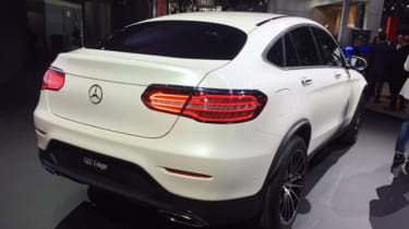 Mercedes GLC Coupe New York 2016 - rear