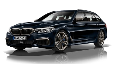 BMW M550d xDrive Touring - front