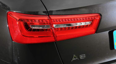 LED tail lights are standard.