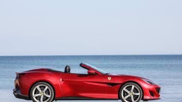 Ferrari Portofino - roof down