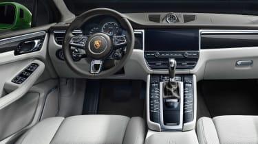 Porsche Macan Turbo - dash