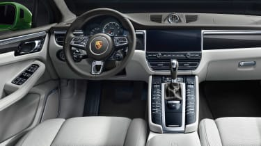 Porsche Macan Turbo - dash