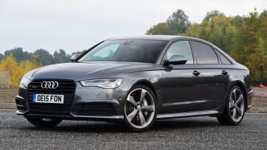 Audi A6 front quarter