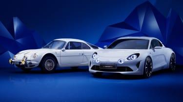 Renault Alpine Vision concept - new vs old