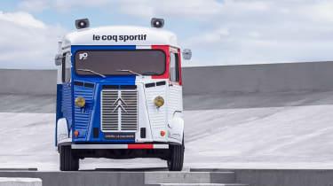 Citroen H van Le Coq Sportif - full front