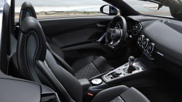 Audi TT S Roadster - cabin