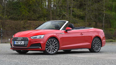 Audi A5 Cabriolet - front static