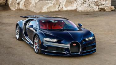 Bugatti Chiron - The Quail front quarter 5