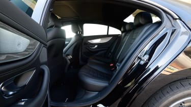 Mercedes CLS 450 - rear seats