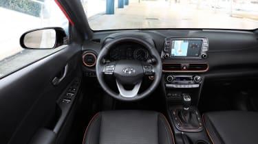 Hyundai Kona diesel - interior