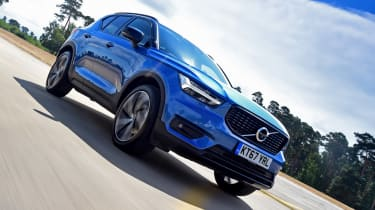 Volvo XC40 - front tracking