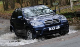 BMW X5 front tracking