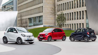 Smart ForTwo and ForFour Brabus header