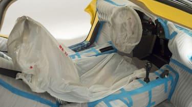 McLaren F1 Yellow interior