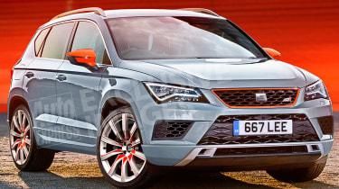 SEAT Ateca Cupra - exclusive pictures front