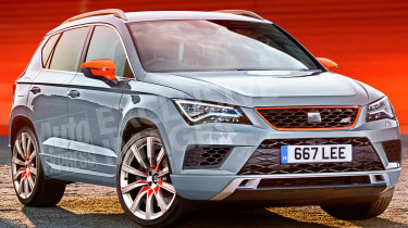 SEAT Ateca Cupra - exclusive pictures front