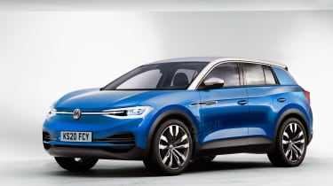 VW i.d. SUV exclusive image