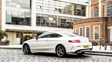 Mercedes C-Class Coupe - rear static