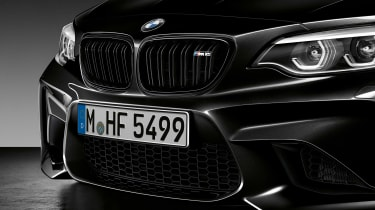 BMW M2 Coupe Edition Black Shadow - grille