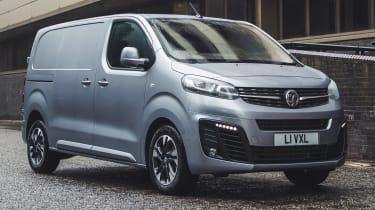 Vauxhall Vivaro van - front static