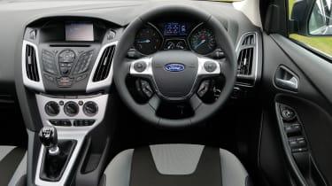 Ford Focus 1.0 Zetec EcoBoost interior
