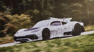 Mercedes-AMG Project ONE - teaser front