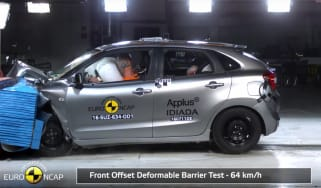 Suzuki Baleno crash test