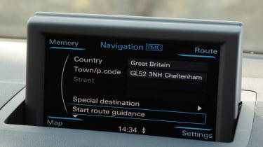 Audi A1 Sportback sat-nav