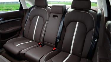 Audi A8 seats