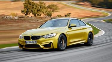 BMW M4 2014 front