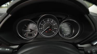 Mazda CX-5 SUV - speedo