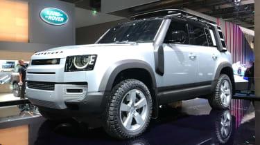Land Rover Defender - Frankfurt front