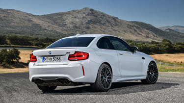 BMW M2 Competition - rear static