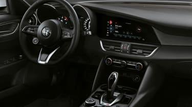 Alfa Romeo Giulia - interior