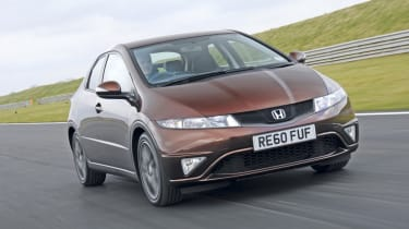 Honda Civic Si front