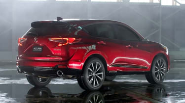 Acura RDX Prototype - rear