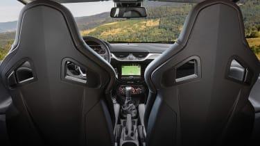 Vauxhall Corsa GSi - interior