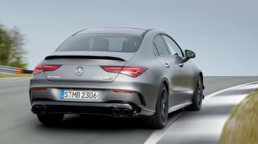 Mercedes-AMG CLA 45 - rear cornering