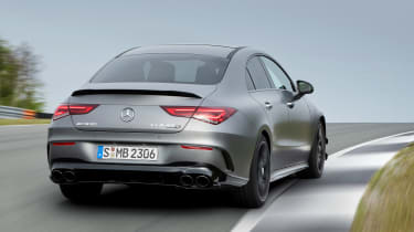 Mercedes-AMG CLA 45 - rear cornering