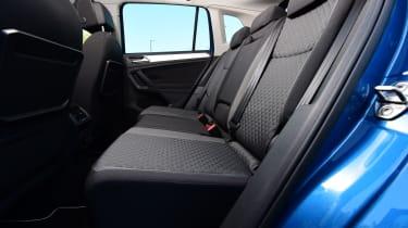 VW Tiguan - back seats