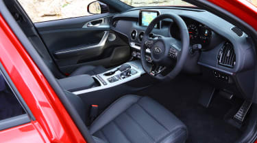Kia Stinger - interior
