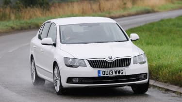 The Superb is the largest Skoda you can buy at the moment.