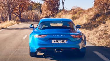 Alpine A110 - full rear