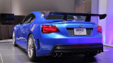 Subaru BRZ STI concept rear