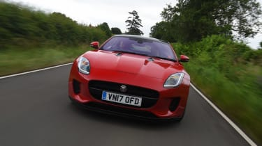 Jaguar F-Type 4-cylinder - full front
