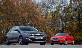 Peugeot 308 vs SEAT Leon main
