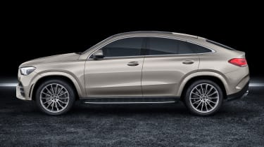 Mercedes GLE Coupe - side static