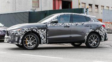 Maserati Levante GTS side front